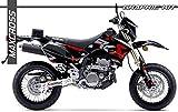 SUZUKI グラフィック DR-Z400SM DR-Z400E「i」max 8