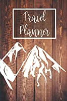 Travel Planner: Plan 4 Trips With Space For Accommodation, Food, Memories, A Packing List, Pictures, Budget, Diary