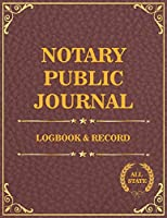 Notary Public Journal record: Notarial acts receipt events log and check list person (Notary public record sheet)