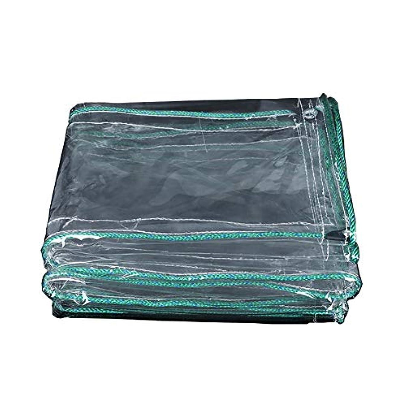 マトリックスタイル怒ってSHYPwM 防水布、防水シート透明キャンバス防水シート透明バルコニーレインカーテン日焼け止め布pvc肥厚プラスチック布 (サイズ さいず : 1.4×5M)