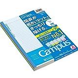 コクヨ 学習罫キャンパスノート 図表罫 A罫 5色 セミB5 ノ-F3CAKX5