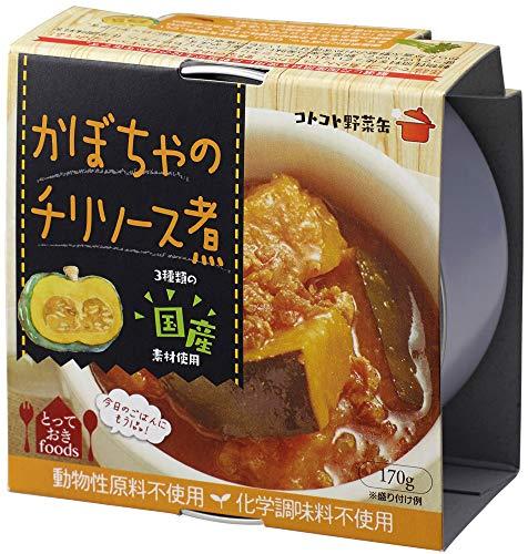 コトコト野菜缶 かぼちゃのチリソース 170g×24個