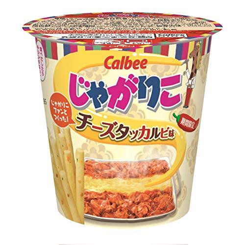 カルビー じゃがりこ チーズタッカルビ味 52g ×12袋