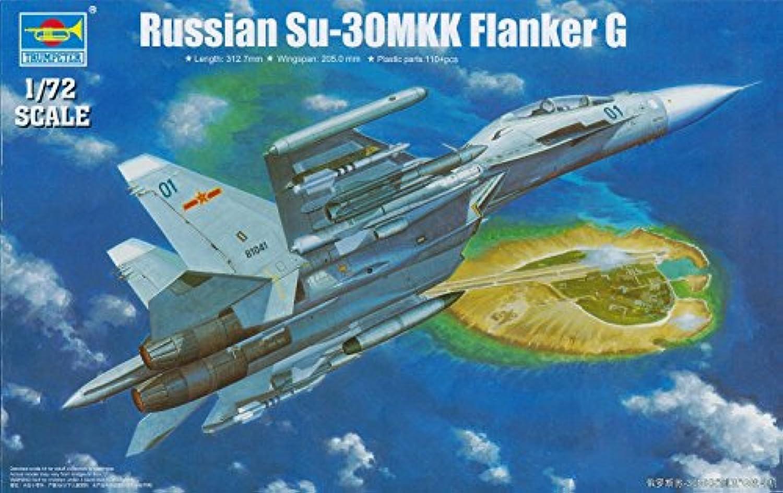 Trumpeter 1/72 Sukhoi Su30MKK Flanker G Russian Fighter [並行輸入品]