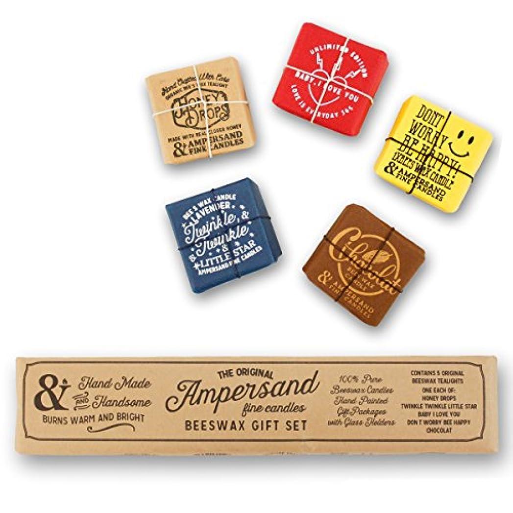 注ぎます割る食用Ampersand Fine Candles(アンパサンド ファイン キャンドル)キャンドル ルームフレグランス ASingle Bee X5 Gift Pack アロマ ギフト オーガニック OS,singlebeegiftpack