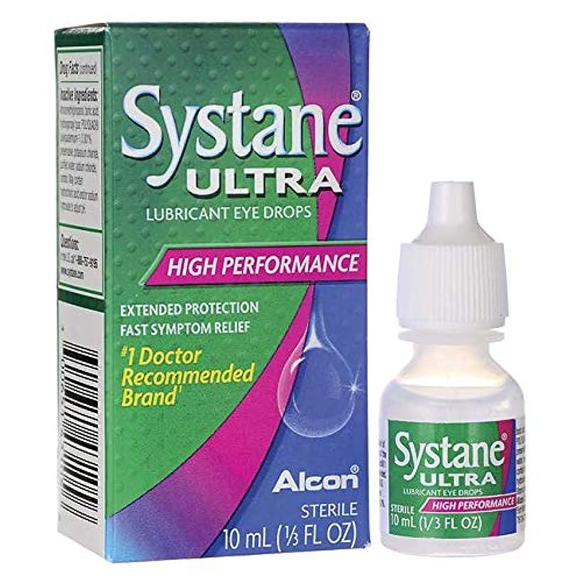 時系列行為健全海外直送品Systane Systane Ultra Lubricant Eye Drops, 10 ml