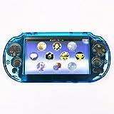 HIROMARUjp Play Station Vita PCH-2000用 プロテクト 保護 カバー クリアライトブルー