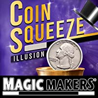 Coin Squeeze Illusion with Online Learning by Magic Makers