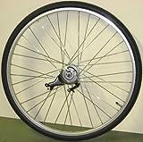 26インチ リアホイール アルミ 内装3段 ローラーブレーキ付(11C) タイヤチューブセット
