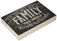 プリミティブby Kathyチョークサイン、8インチby 11.75インチ、Met My Family
