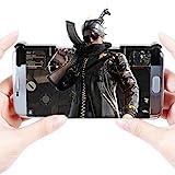 IPhone/Android ゲームコントローラー ゲームパッド 高耐久ボタン 感応式射撃で「荒野行動に対応できる」本体* 2 改良