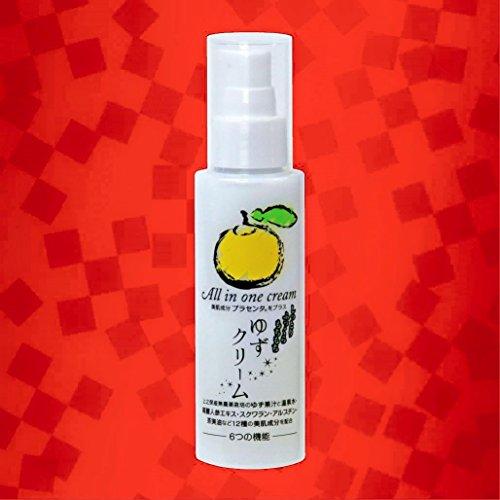 ゆずクリーム(12種類の美肌成分配合のオールインワン化粧品) 100g