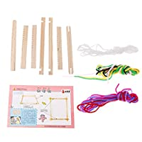 Dabixx 教育玩具, DIYのAssemb Handloom織り直しのLoom科学技術教育子供のおもちゃ