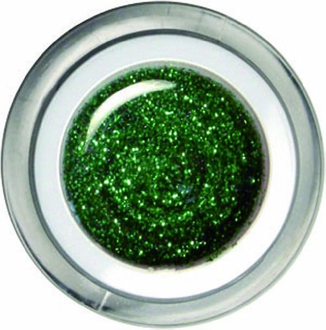 ペルメル確認する透過性メロディコ メロディコジェル #25グリーンパールグリッター