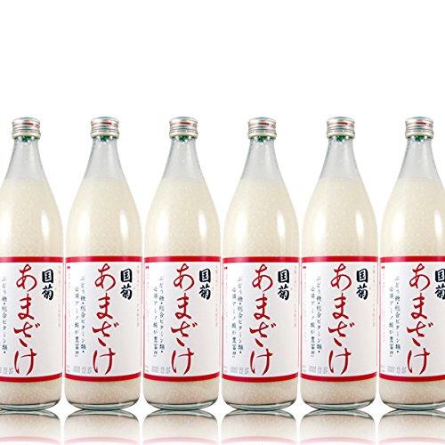 国菊 あまざけ 900ml × 6本