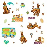 RoomMates RMK1696SCS Scooby Doo Peel & Stick Wall Decals 26 Count [並行輸入品]