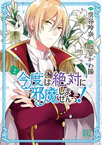 Kondo wa Zettai ni Jamashimasen!/I Swear I Won't Bother You Again! Volume 2 LN cover, featuring Claudia with arms crossed in front of his chest