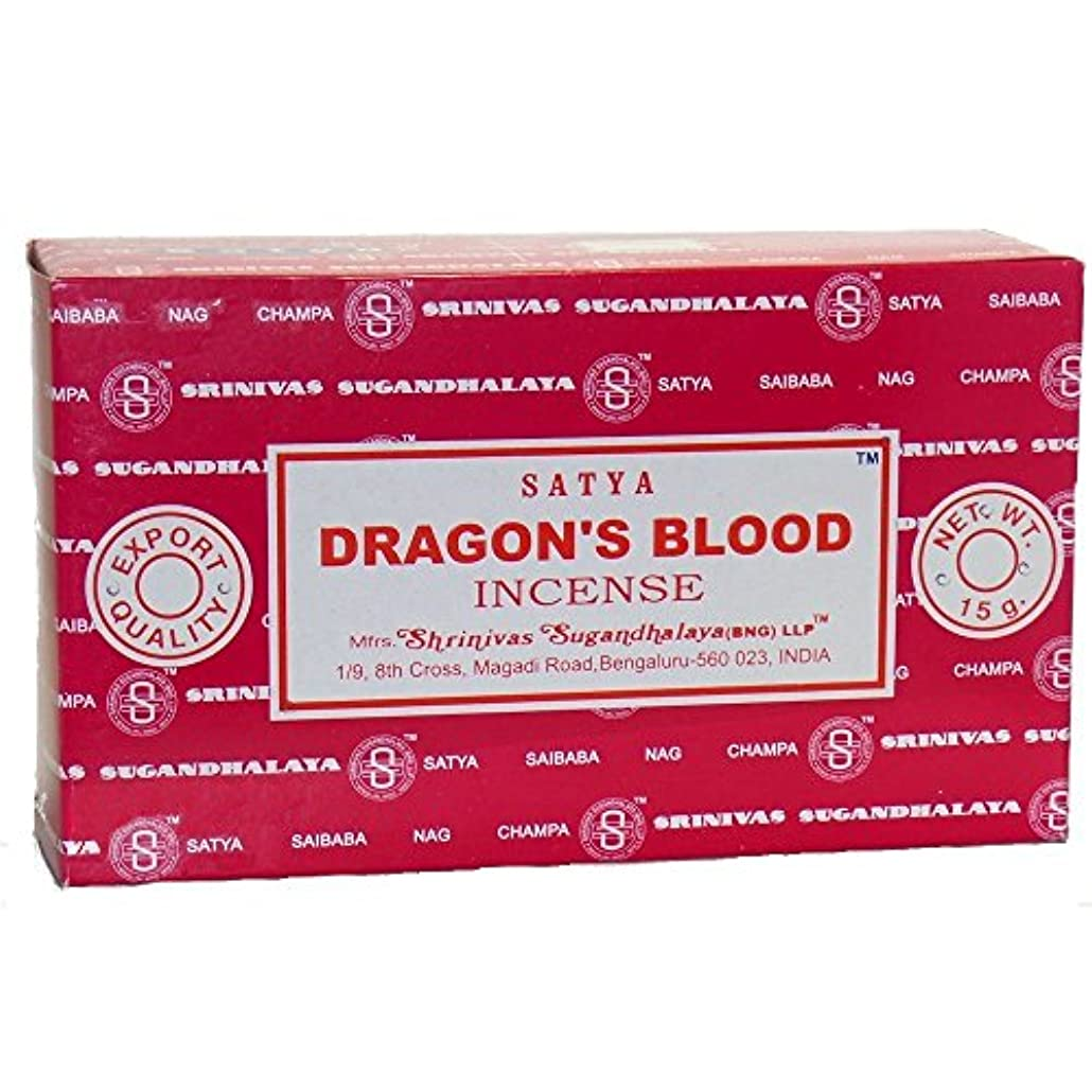 大通りきょうだいどきどきBuycrafty Satya Champa Dragon's Blood Incense Stick,180 Grams Box (15g x 12 Boxes)