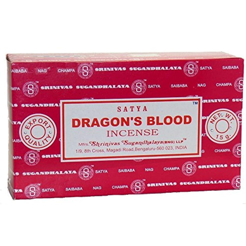 近傍推論ディスクBuycrafty Satya Champa Dragon's Blood Incense Stick,180 Grams Box (15g x 12 Boxes)