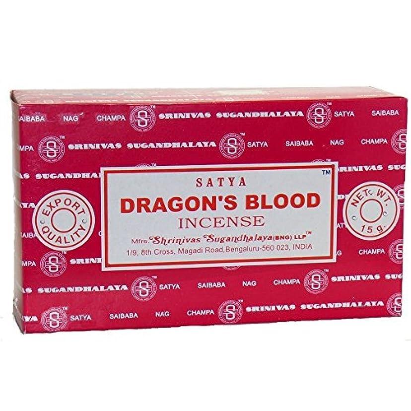 もっと少なく民主党コンプリートBuycrafty Satya Champa Dragon's Blood Incense Stick,180 Grams Box (15g x 12 Boxes)