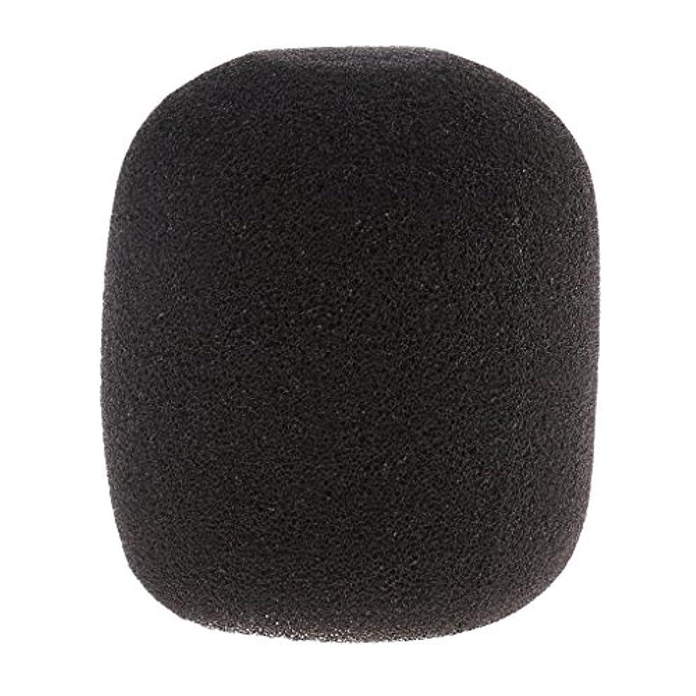 是正する思われる対角線sharprepublic マイク スポンジ フォーム マイクカバー 風防 ウィンドシールド ウィンドスクリーン 約85×80mm