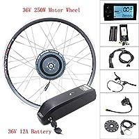350w36v18asamsunglcdモーターホイール36Vバイクキットフロントホイールモーター電動自転車変換キット