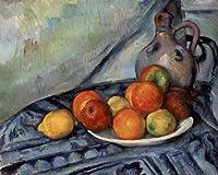 セザンヌ・[Paul Cezanne] プリキャンバス複製画・ ギャラリーラップ仕上げ(6号サイズ)