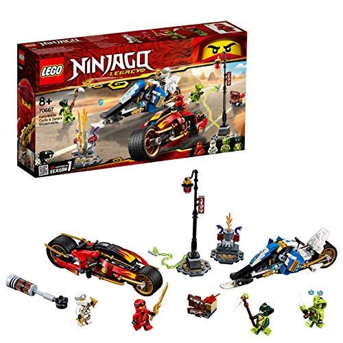 レゴ(LEGO) ニンジャゴー カイ&ゼンのバイクレース 70667 ブロック おもちゃ 男の子