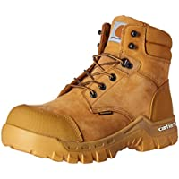 """Carhartt Men's 6"""" Rugged Flex Waterproof Breathable Composite Toe Leather Work Boot CMF6356"""