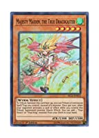 遊戯王 英語版 FIGA-EN052 Majesty Maiden, the True Dracocaster 真竜導士マジェスティM (スーパーレア) 1st Edition