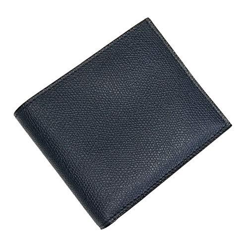 [VALEXTRA(ヴァレクストラ)] 二つ折りレザー財布(小銭入れ付き) V8L23 028 メンズ [並行輸入品]