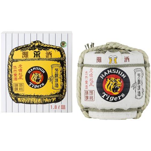清酒 阪神タイガース菰冠 1800ml