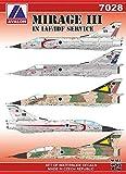 アヴァロンデカール 1/72 イスラエル空軍 ミラージュ3 プラモデル用デカール AVD7028