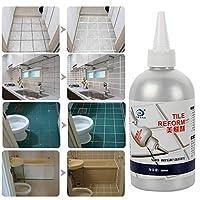 タイルギャップ詰め替えエージェント、タイル詰め替えコーティング金型クリーナー、タイルシーラー修理接着剤、家の装飾ステッカー&ポスターハンドツール Tile Gap Refill Coating Mold Cleaner, Tile Sealer Repair Glue