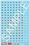 ホビージャパン フレームアームズ・ガール 瞳デカールセット013 スティレットXF-3用 プラモデル用デカール FA013D