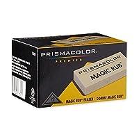 2x Prismacolor Magic Rubビニール製図消しゴム、12パック( 73201)