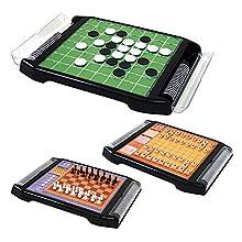 テーブルゲーム 将棋・オセロ・チェスができるボードゲーム / お手軽 パーティー  14418