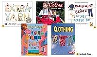 Becker's School Supplies Theme Book Set: Clothing (Set of 5) [並行輸入品]