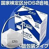 シゲマツ 使い捨て式防じんマスク DD01-S2-2 10枚入 名刺サイズ 30205