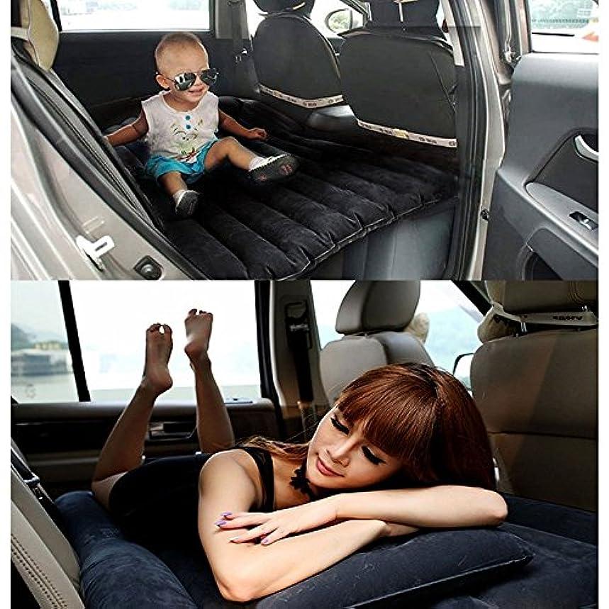 光の彼のそのような車中泊ベッド エアーマット エアーベッド 車載用マット 付き 車載用マット インフレータブルマットレス 分離可能な SUV車用ベッド