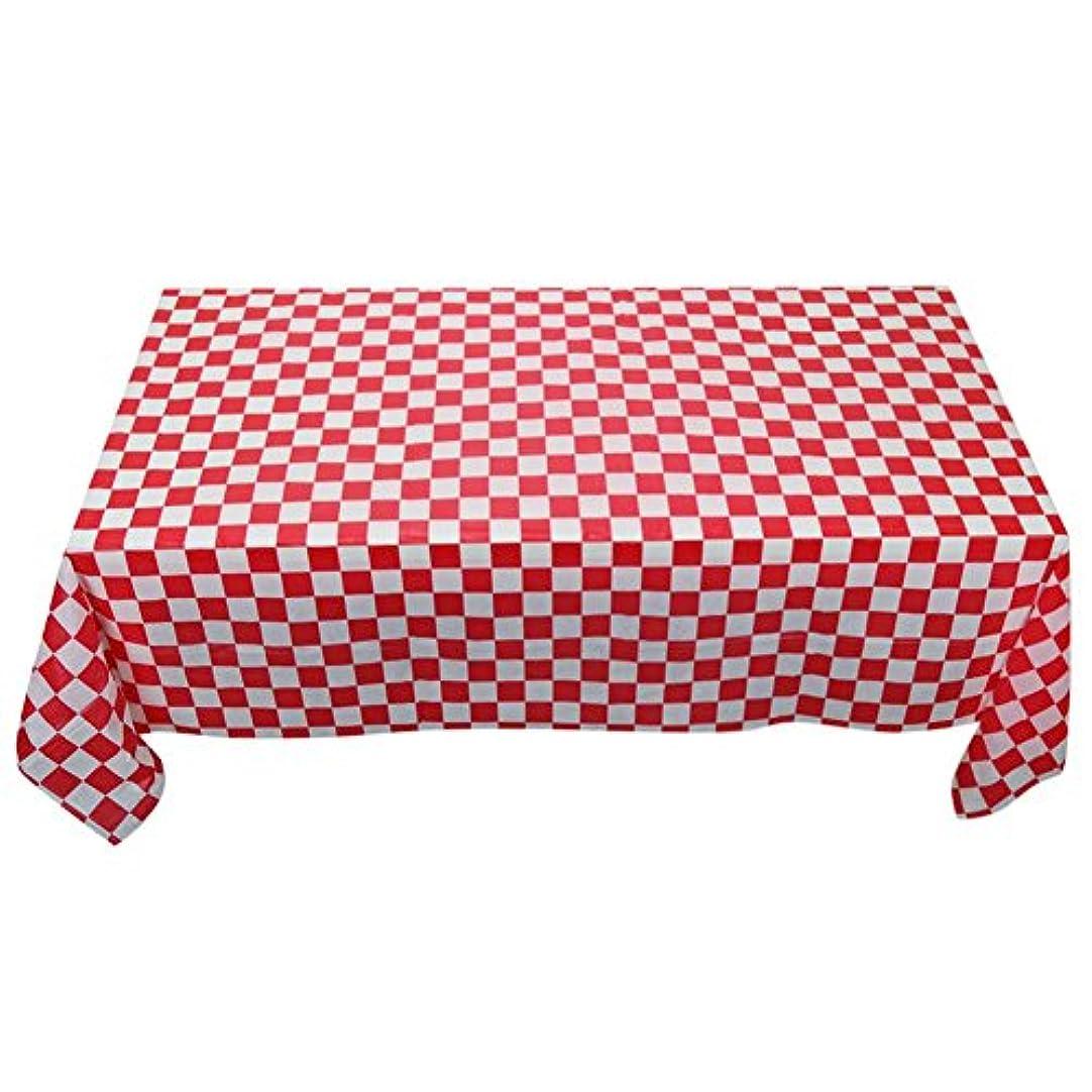 姪船乗り捨てるAEdiea キャンプ 分解性 プラスチック テーブル クロス 長方形 テーブル クロス カバー