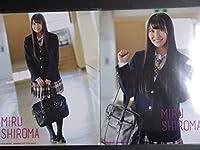 NMB48 Don't look back 初回盤 封入生写真フルコンプ 白間美瑠