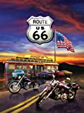 Best SunsOut 1000ピースのパズル - Route 66 Diner a 1000-Piece Jigsaw Puzzle Review