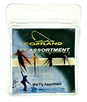 Cortland Pro選択濡れFlies Assortment , 4pk