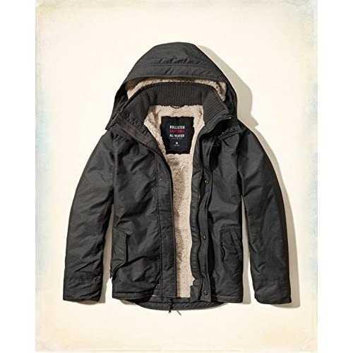 Hollister Co. ホリスター The Hollister All-Weather Jacket [COLOR: ダークグレー ][SIZE: M ] [並行輸入品]