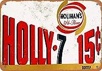 ホリハンのビール メタルポスタレトロなポスタ安全標識壁パネル ティンサイン注意看板壁掛けプレート警告サイン絵図ショップ食料品ショッピングモールパーキングバークラブカフェレストラントイレ公共の場ギフト