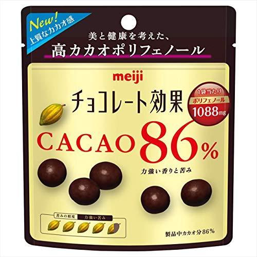 チョコレート効果 カカオ86% 袋37g