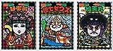ビックリマン×文楽 観劇配布カード 全3種セット 国立文楽劇場