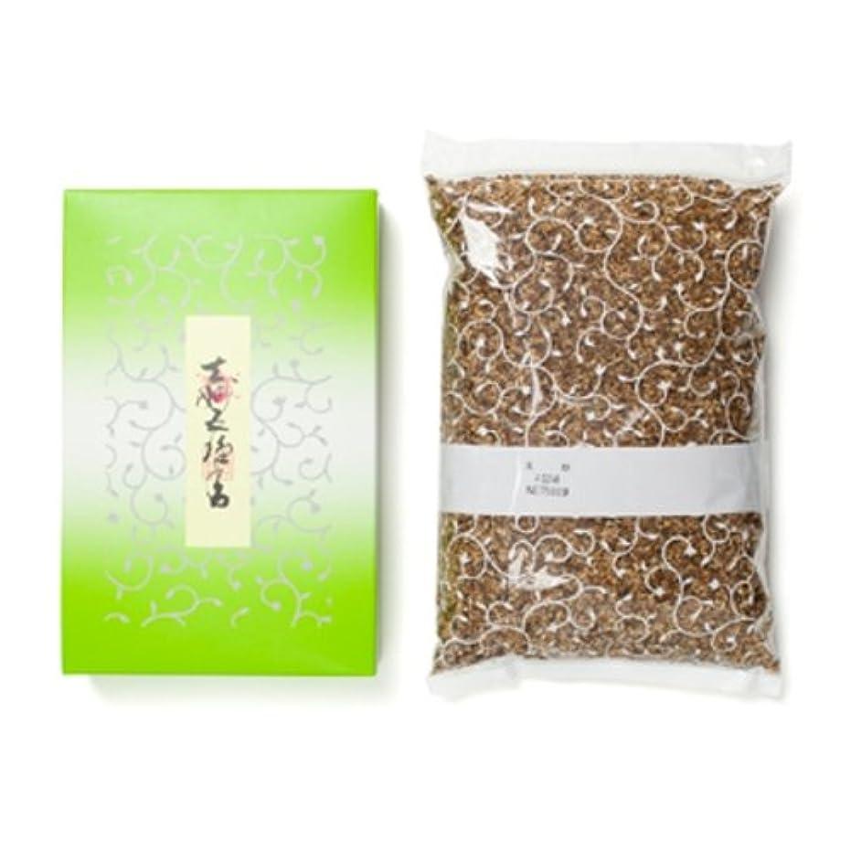 泥白鳥カイウス松栄堂のお焼香 玄妙五種香 500g詰 紙箱入 #410111