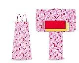 子供 2way ワンピース浴衣 サンドレス 4点セット (100, WA-1)
